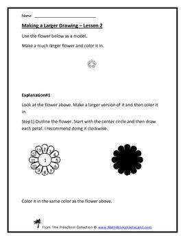 Geometric Shapes Starter Teacher Worksheet Pack - Tracing, Drawing, Identifying