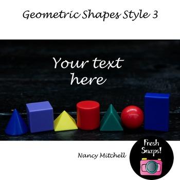 Geometric Shapes Style 3