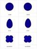 Geometric Shapes Three Part Cards