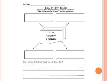 Literacy Study Unit - Geometric Shapes