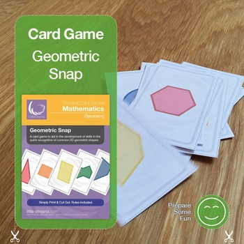Shapes Snap Card Game
