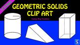 Geometric Solids Clip Art