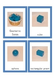 Geometric Solids - Matching shapes to names