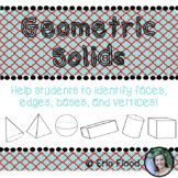 Geometric Solids Outlines