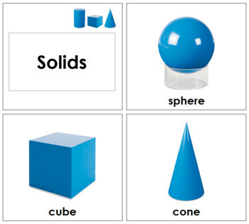 Geometric Solids - Toddler