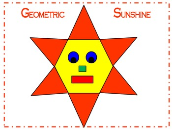 Geometric Sunshine 2D Shapes