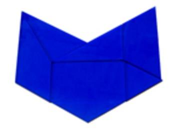 "Geometric Tiles: 1/8"" acrylic, Class set of 10 Van Hiele Tiles, Free Curriculum"