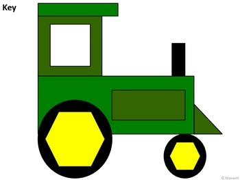 Geometric Tractors for the Farm Units 2D Shapes