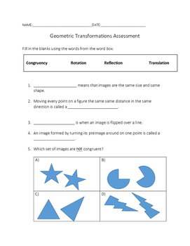 Geometric Transformation Assessment