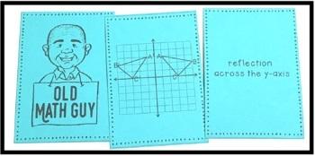 Geometric Transformations Card Game