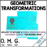 Geometric Transformations Card Game