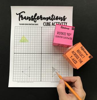 Geometric Transformations Cube Activity