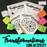 Geometric Transformations Cube Activity