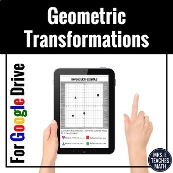 Geometric Transformations Digital Activity Distance Learning
