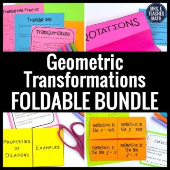 Geometric Transformations Foldable Bundle
