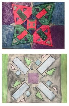 Geometric Transformations: Radial Art