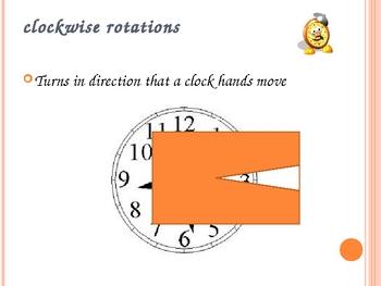 Geometric Transformations-Slide, Flip, Turn