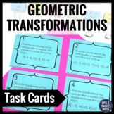 Geometric Transformations Task Cards