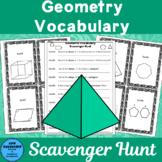 Geometric Vocabulary Scavenger Hunt
