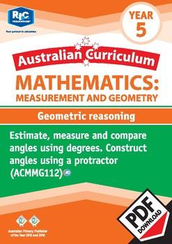 Geometric reasoning – Year 5