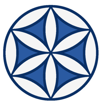 Geometric rosette