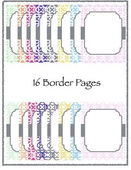 Designer Border/Background Personal and Commercial Use