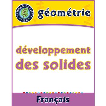 Géométrie: Développement des Solides An. PK-2