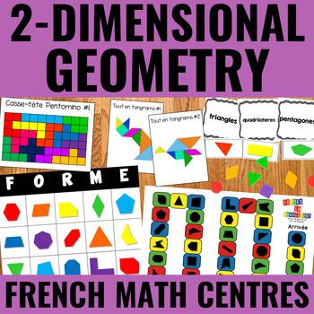 Géométrie à deux dimensions - 2-Dimensional Geometry Centers French