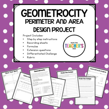 Geometrocity--Perimeter and Area Project Learning