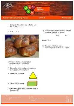 Geometry #1 Level 1