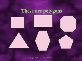 Common Core 3rd - Geometry 1 - Polygons