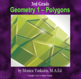 3rd Grade Geometry 1 - Polygons Powerpoint Lesson