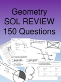 Geometry 150 Multiple Choice SOL type questions