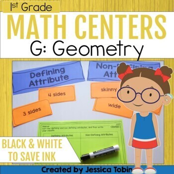 Geometry Centers- 1st Grade