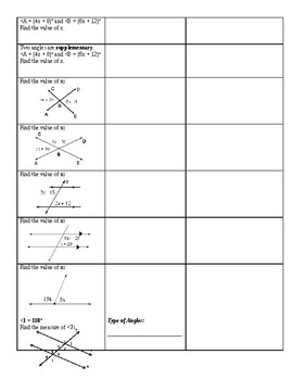 """Geometry 1st Semester Final Review """"Habits of Thinking"""""""