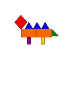 Geometry 1st grade - building figures