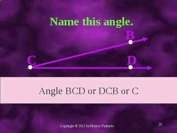 Common Core 4th - Geometry 2 - Angles and Protractors