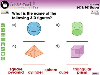 Geometry: 2-D & 3-D Shapes - MAC Gr. 3-5