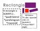 Geometry 2-D Shape Attribute Poster Set