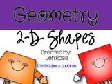 Geometry: 2-D Shapes
