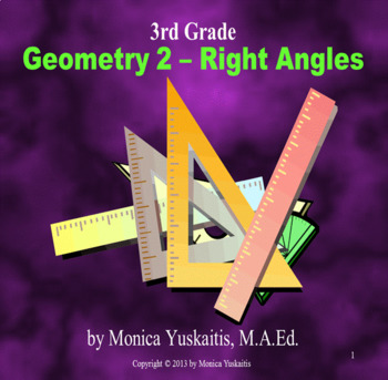 Common Core 3rd - Geometry 2 - Right Angles