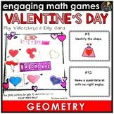 Valentine's Day Geometry Game