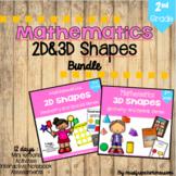 Geometry -  2D&3D Shapes