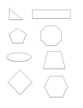 Geometry 2D Shape Sort