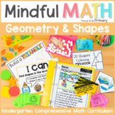 Geometry - 2D Shapes & 3D Solids Kindergarten