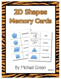 Geometry: 2D Shapes Memory Game