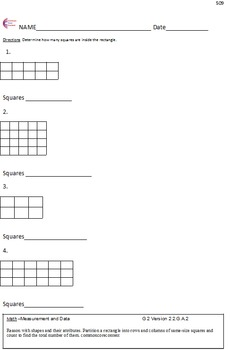 Geometry 2.G.A.1, 2.G.a.2 Second Grade Common Core Math Worksheets