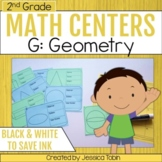 Geometry- 2nd Grade Math Centers
