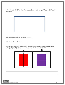 Geometry 2nd Grade Assessment - CCSS
