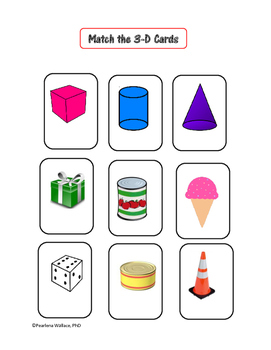 Geometry: 3-D Shapes, Faces, Edges, & Vertices Pack CCSS Aligned